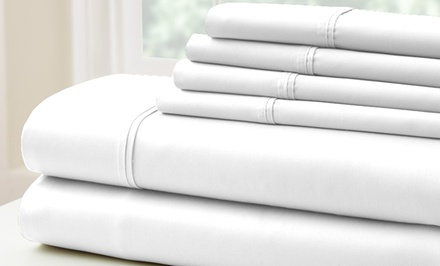 500TC Egyptian Cotton Rich Sheet Set. Multiple Sizes from $44.99–$49.99. Free Returns.