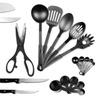 Kitchen Utensil and Knife Set (29-Piece)