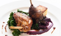 Two-Course Lunch for Two at No 11 (50% Off)