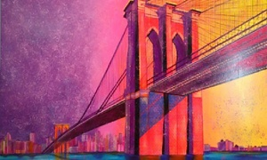 W. Lopa Studios: $175 for $400 towards Modern-Art Canvas Prints from W. Lopa Studios