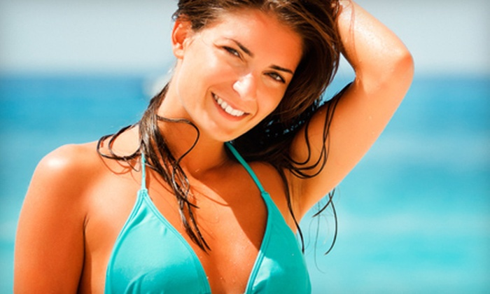 Somewhere To Be Salon - Gulf Breeze: One or Three Spray Tans at Somewhere To Be Salon (Up to 71% Off)