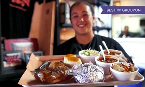 Slow Hand BBQ: Barbecue for Two or Four at Slow Hand BBQ (50% Off)