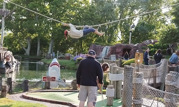 Pirate's Cove - Mid Cape: Five Rounds of Mini-Golf at Pirate's Cove Adventure Golf (Up to 44% Off)