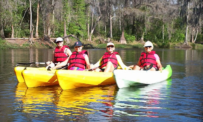 Florida from A Kayak - Clermont: Two-Hour Kayak Eco Tour for One, Two, or Four from Florida from a Kayak in Clermont (Up to 53% Off)