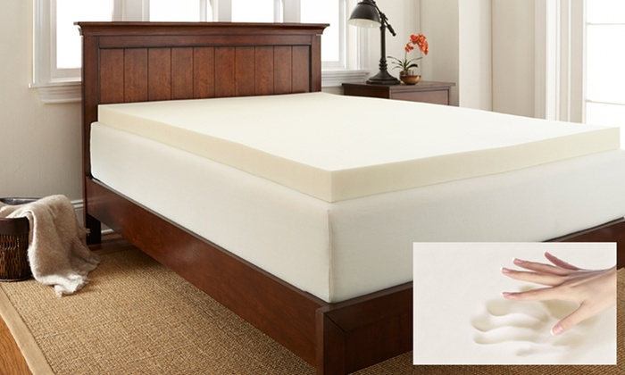 "PuraSleep Premium Memory-Foam Mattress Toppers: 2"" or 3"" PuraSleep Premium Memory-Foam Mattress Topper. Multiple Sizes from $79.99–$169.99. Free Shipping."