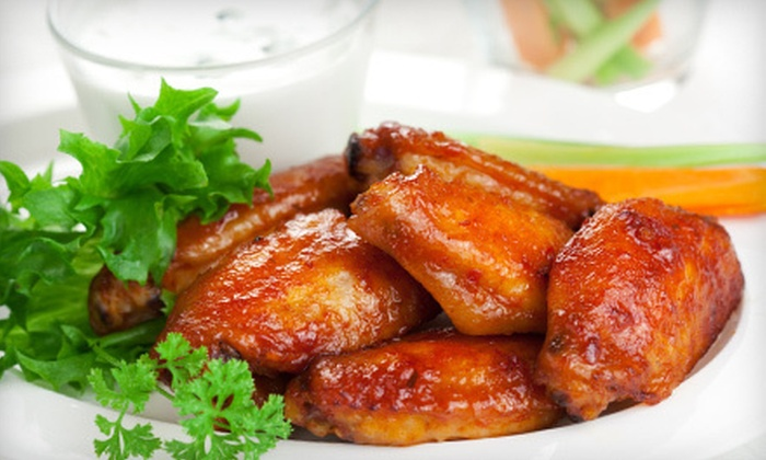 Wild Wild Wingz - Barwal: $10 for $20 Worth of Wings, Ribs, and Sandwiches at Wild Wild Wingz in Deerfield Beach