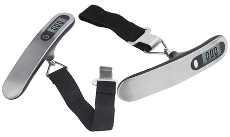 1 o 2 bilance digitali per bagagli con monitor LCD