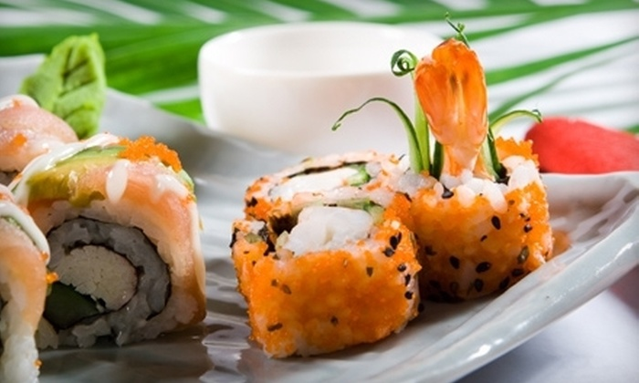 Bamboo Lounge / Ami Sushi - Hillcrest: Japanese Dinner for One, Two, or Four with Appetizers, Sushi, and Drinks at Bamboo Lounge / Ami Sushi (Up to 54% Off)