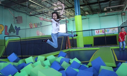 Up to 55% Off Indoor-Playground Passes at U play