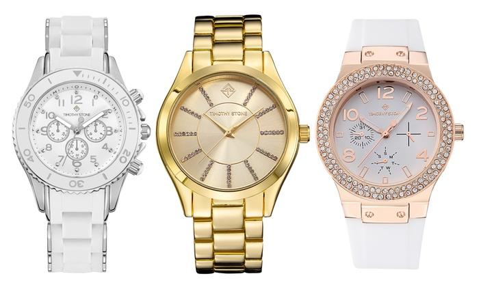 Reloj Timothy Stone con Swarovski® | Groupon Goods