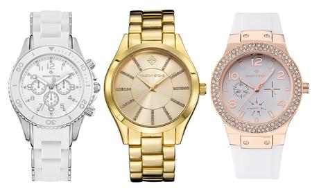 1 o 2 relojes para mujer Timothy Stone decorado con cristales Swarovski®