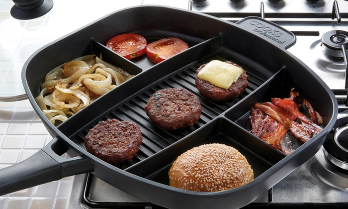 Cooks Professional Split Section Pan Groupon