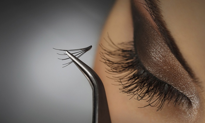 The Spa Beautique - Lawrenceville: Mink Eyelash Extensions with Optional Fill or Organic Deep Pore Facial at The Spa Beautique (Up to 51% Off)