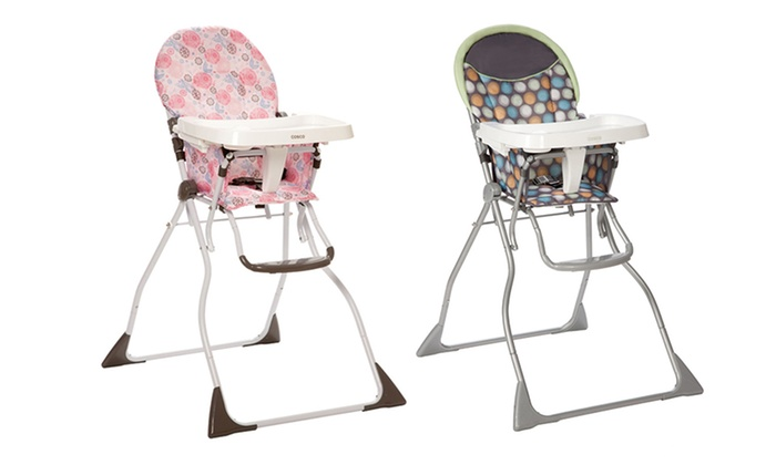 Cosco Slim Fold High Chair Groupon Goods
