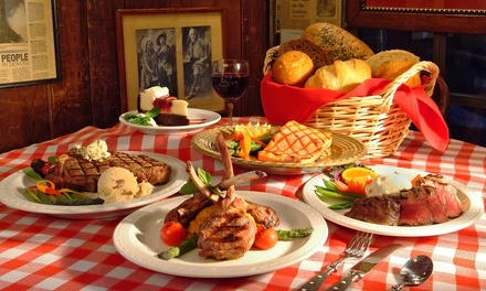 Steakhouse Fare for Lunch or Dinner at Buckhorn Exchange (Up to 40% Off)