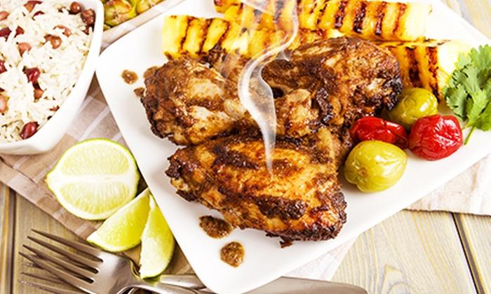 Restaurant Abessinia - Restaurant Abessinia: Abessinische Schlemmerplatte mit Huhn und Lamm für Zwei oder Vier im Restaurant Abessinia ab 16,90 € (bis zu 58% sparen)