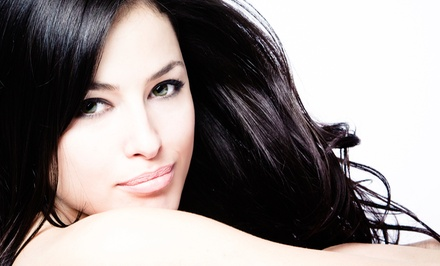 Haircut with Options for Highlights or Color, or a Brazilian Blowout at Simplicity Hair Studio (Up to 72% Off)