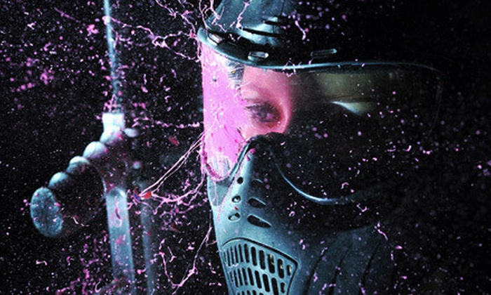 PBC Paintball Park - Rock Creek: $22 for All-Day Paintball Package with Equipment Rental, Air, and 500 Paintballs at PBC Paintball Park ($44 Value)