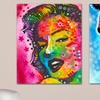 "Colorful Famous-People 14""x11"" Prints on Metal"