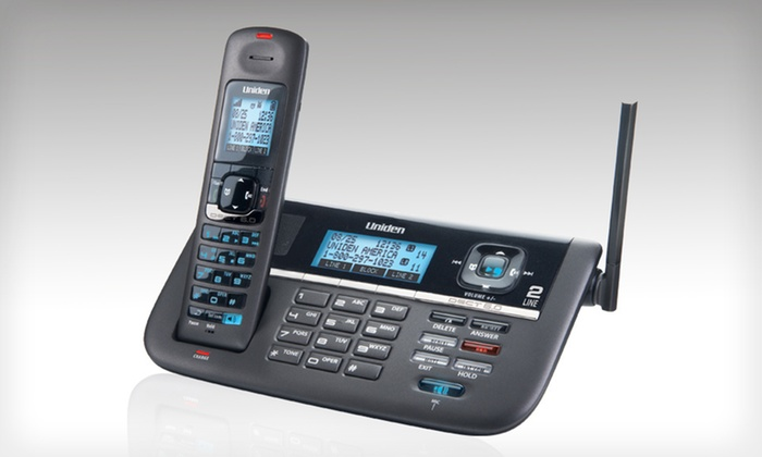 Uniden Two-Line Cordless Digital Answering System: $59.99 for a Uniden Two-Line Cordless Digital Answering System ($119.99 List Price). Free Shipping and Free Returns.