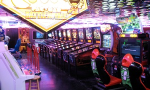 Family Arcade: $25 for Two Groupons, Each Good for 120 Tokens During One Arcade Visit at Family Arcade (43% Off)