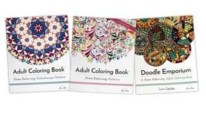 Adult Coloring Books Patterns Collection