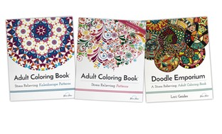 Adult Coloring Books: Patterns Collection
