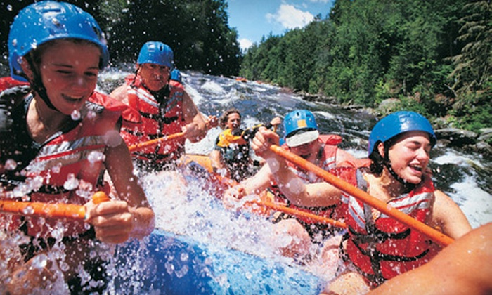 Canadian Rockies Adventure Centre - Rafting Base: $55 for a Rafting Trip on the Kananaskis River from Canadian Rockies Adventure Centre ($110 Value)