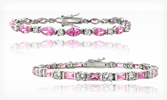 Sterling Silver Cubic Zirconia Tennis Bracelets: $19.99 for Sterling Silver Cubic Zirconia Tennis Bracelets ($89.99 List Price). Free Shipping and Returns.