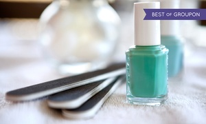 Lily Nails: One or Two Regular or Deluxe Mani-Pedis at Lily Nails (Up to 57% Off)
