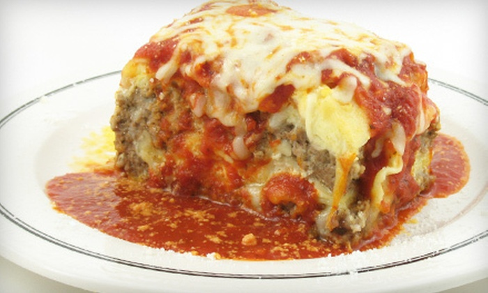 Roman Forum Restaurant - Canton: $10 for $20 Worth of Italian Fare at Roman Forum Restaurant in Canton