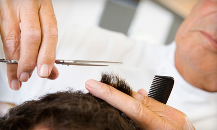 Dave's Barbershop - Dave's Hair Studio: One or Three Men's Haircuts and Royal Shave Treatments at Dave's Barbershop in Freeport (Up to 64% Off)