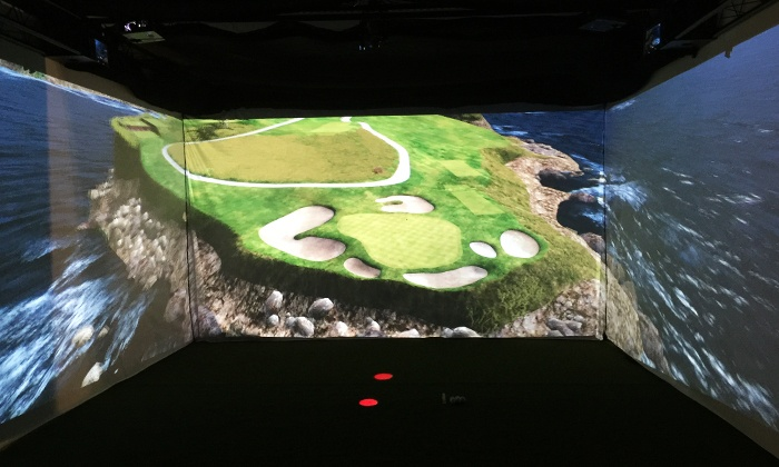 Scarlett's Golf Experience - Spokane Valley Mall: Virtual Golf and Beer for Two or Four People at Scarlett's Golf Experience (Up to 40% Off)