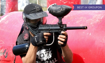 Day of Paintball with Gun, Mask, Air, and Ammo for Two, Six, or Ten at 907 Paintball (Up to 60% Off)