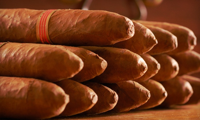 Finck's Cigar Factory Outlet - Multiple Locations: $12 for $25 Worth of Cigars and Smoking Accessories at Finck's Cigar Factory Outlet