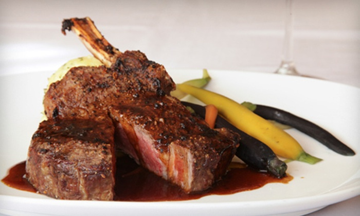 Rox City Grill - St. Charles: $25 for $50 Worth of Steak-House Fare and Drinks at Rox City Grill in St. Charles