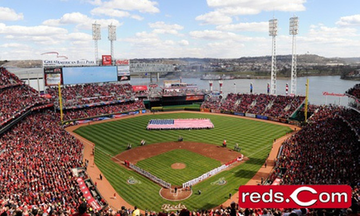 Cincinnati Reds - Great American Ball Park: Cincinnati Reds Game at Great American Ball Park on September 24 or 25 (Up to 55% Off). Two Seating Options.