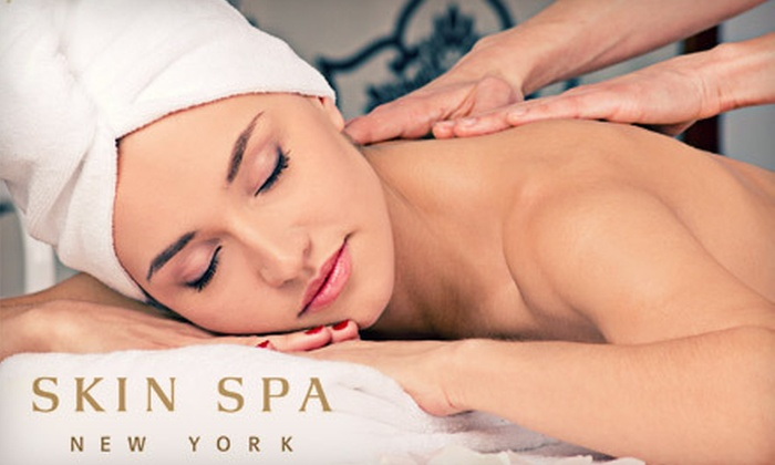Skin Spa - Multiple Locations: One or Three Swedish, Deep-Tissue, or Aromatherapy Massages at Skin Spa (Up to 61% Off). Four Options Available.