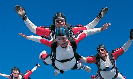 One or Two Groupons, Each Good for One Tandem Skydive at   Dallas Skydiving (50% Off)
