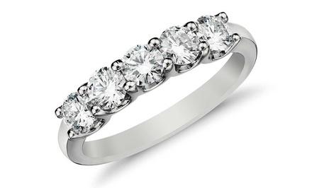 1.00 CTTW Diamond Ring in 10K Gold