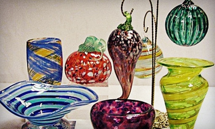 Uptown Glassworks - Industrial District East: Blow Your Own Glass Project for One or Two at Uptown Glassworks (Up to 62% Off)