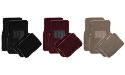 4-Piece Universal Carpet Car Floor Mats