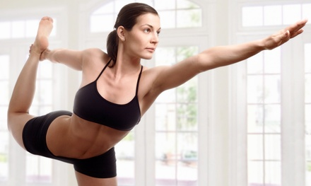 Five Classes or One Month of Unlimited Classes at Yoga 360 and Bikram Yoga Langley (71% Off)