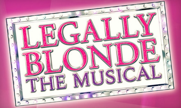 """Legally Blonde the Musical"" - The Historic Palace Theatre: $20 for a ""Legally Blonde The Musical"" Package for Two at The Historic Palace Theatre in Lockport (Up to $42 Value)"