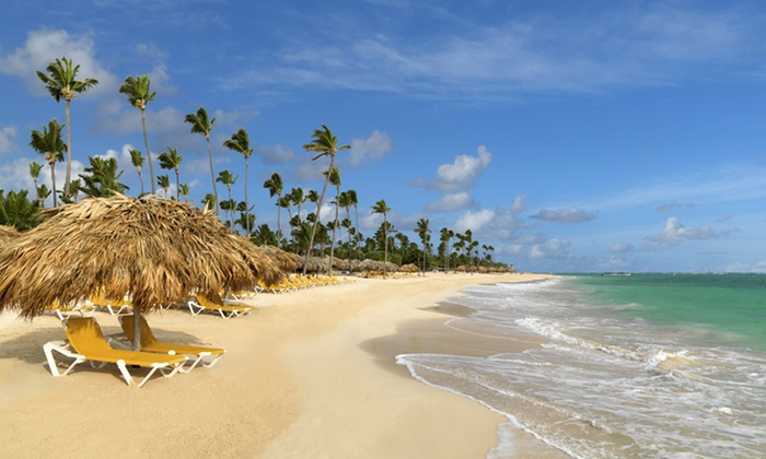 Iberostar Dominicana Stay with Airfare from Vacation Express - Punta Cana, Dominican Republic: ✈ All-Inclusive Iberostar Dominicana Stay with Airfare. Includes Taxes and Fees. Price/Person Based on Double Occupancy.