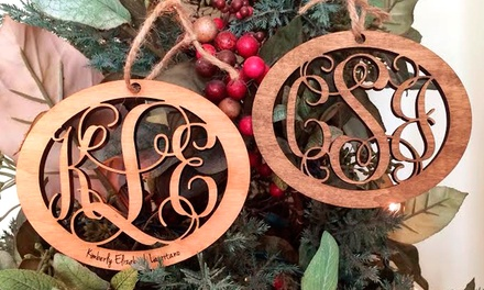 One, Two, or Three Custom Wood Ornaments from LilyDeal.com (Up to 84% Off)
