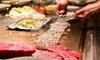 45% Off at Arashi Teppan Steak & Sushi
