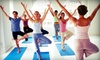 North Shore Yoga - Beverly: 5 or 10 Yoga Classes or Four Weeks of Prenatal or Mom-and-Baby Yoga Classes at North Shore Yoga (Up to 67% Off)