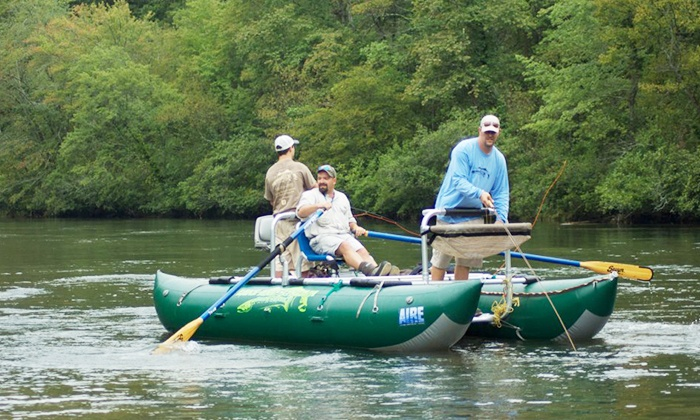 Lake and Stream Guide Service - McCaysville: $220 for an Eight-Hour, Guided Drift-Boat Trout Fishing Trip for Two from Lake and Stream Guide Service ($425 Value)