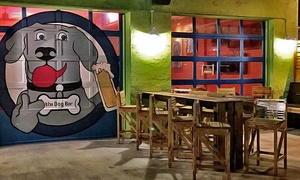 $20 Worth of Drinks or a Year of Dog Bar Membership at The Dog Bar (Up to 55% Off)
